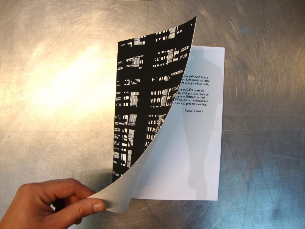 New York 2009 (extrait) 27x21 cm, sérigraphie sur papier.