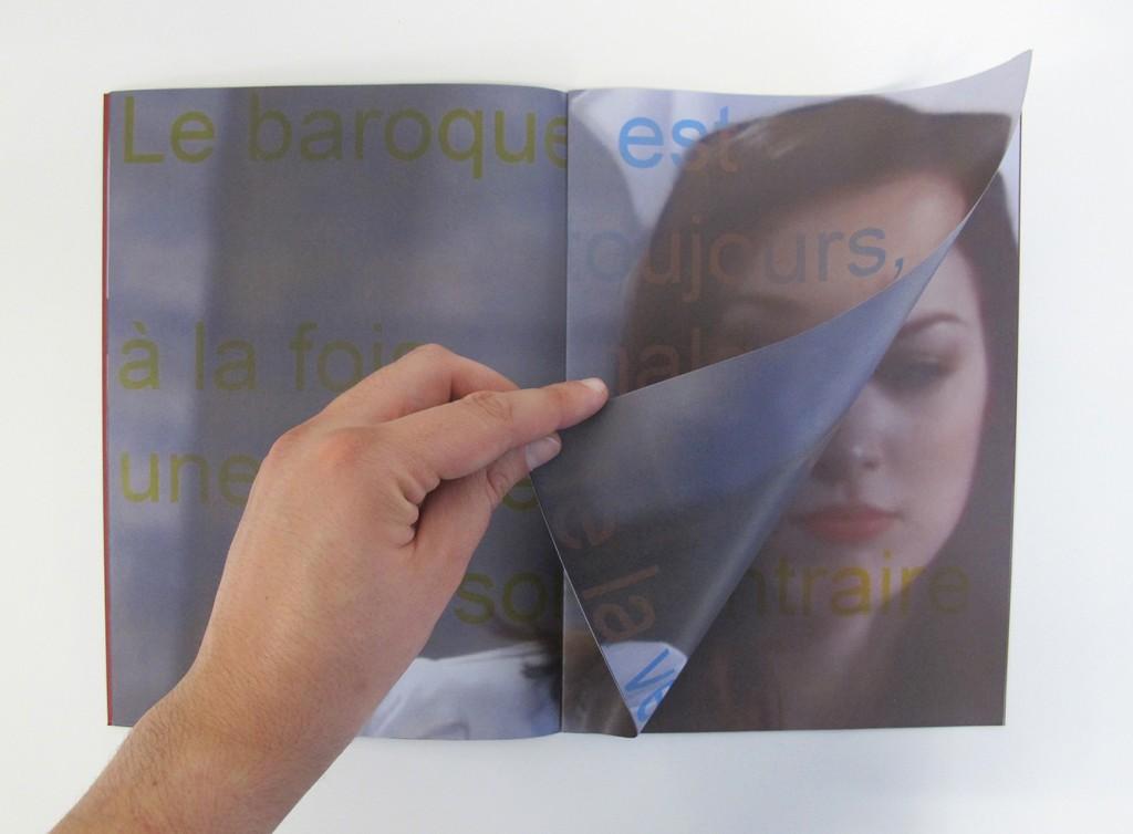 Lamento della nurse, extrait, 2015. 20x27,5cm, couvertures sérigraphiées sur papier coloré, intérieur impression numérique sur papier recyclé.