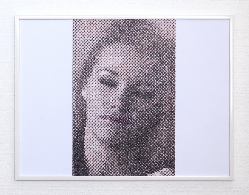 9 frames of Raven (frame 1) 30x40 cm, encre et crayons de couleurs sur papier. 2018