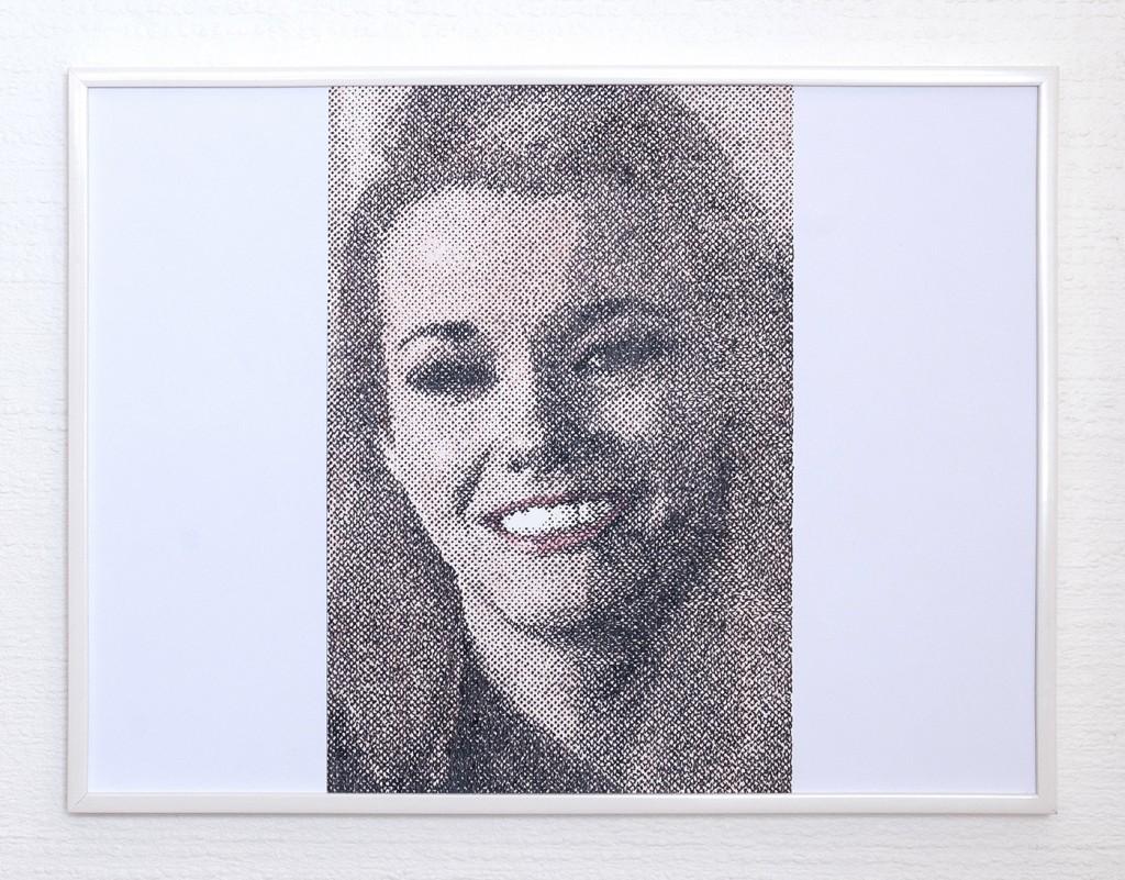 9 frames of Raven (frame 2) 30x40 cm, encre et crayons de couleurs sur papier. 2018