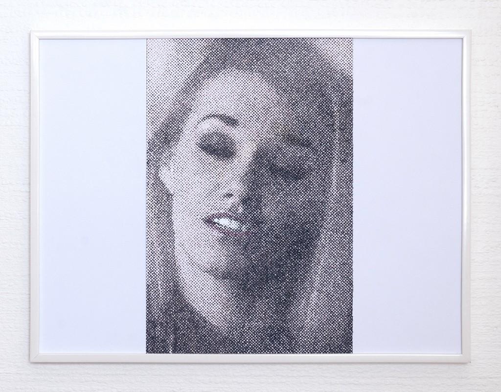9 frames of Raven (frame 3) 30x40 cm, encre et crayons de couleurs sur papier. 2018