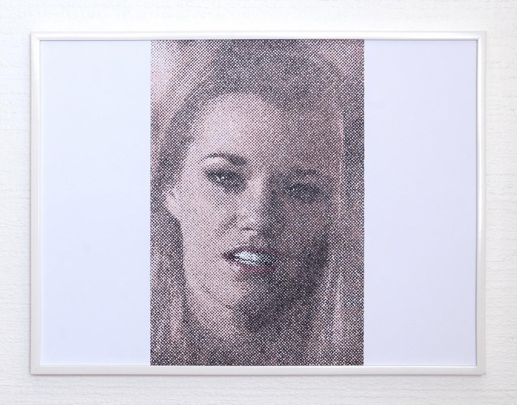 9 frames of Raven (frame 4) 30x40 cm, encre et crayons de couleurs sur papier. 2018
