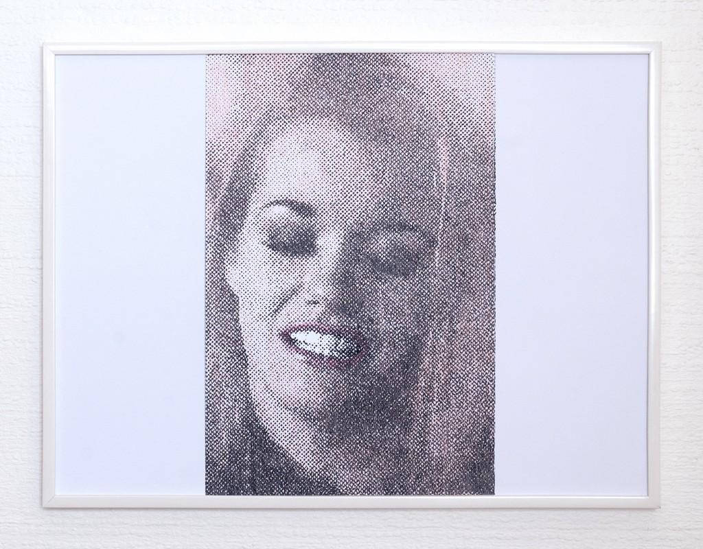 9 frames of Raven (frame 5) 30x40 cm, encre et crayons de couleurs sur papier. 2018