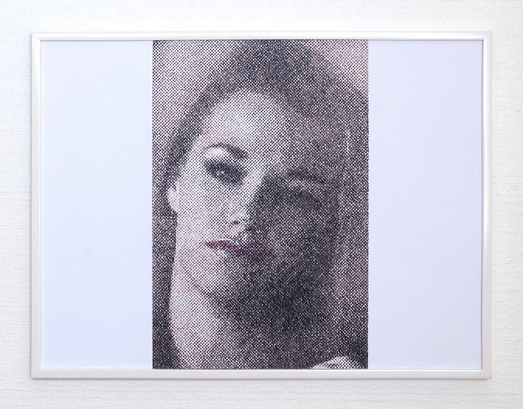 9 frames of Raven (frame 6) 30x40 cm, encre et crayons de couleurs sur papier. 2018