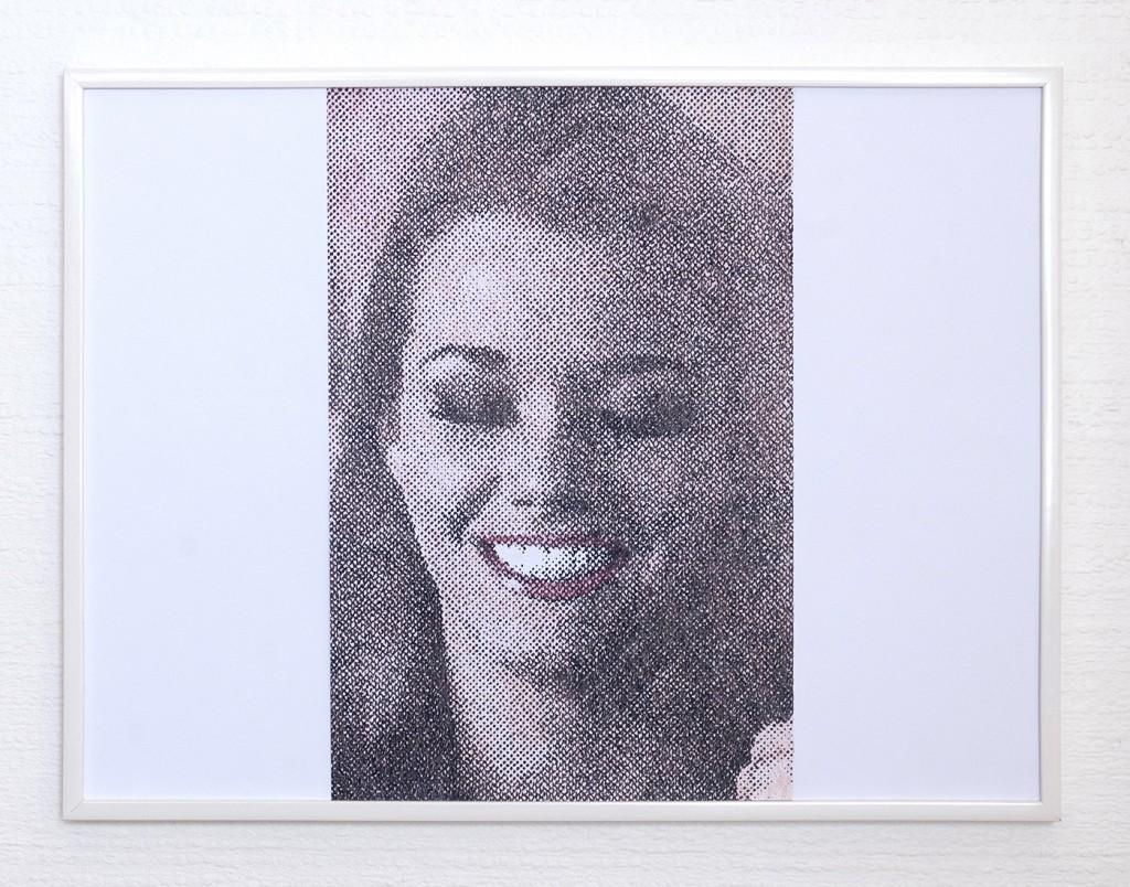 9 frames of Raven (frame 8) 30x40 cm, encre et crayons de couleurs sur papier. 2018