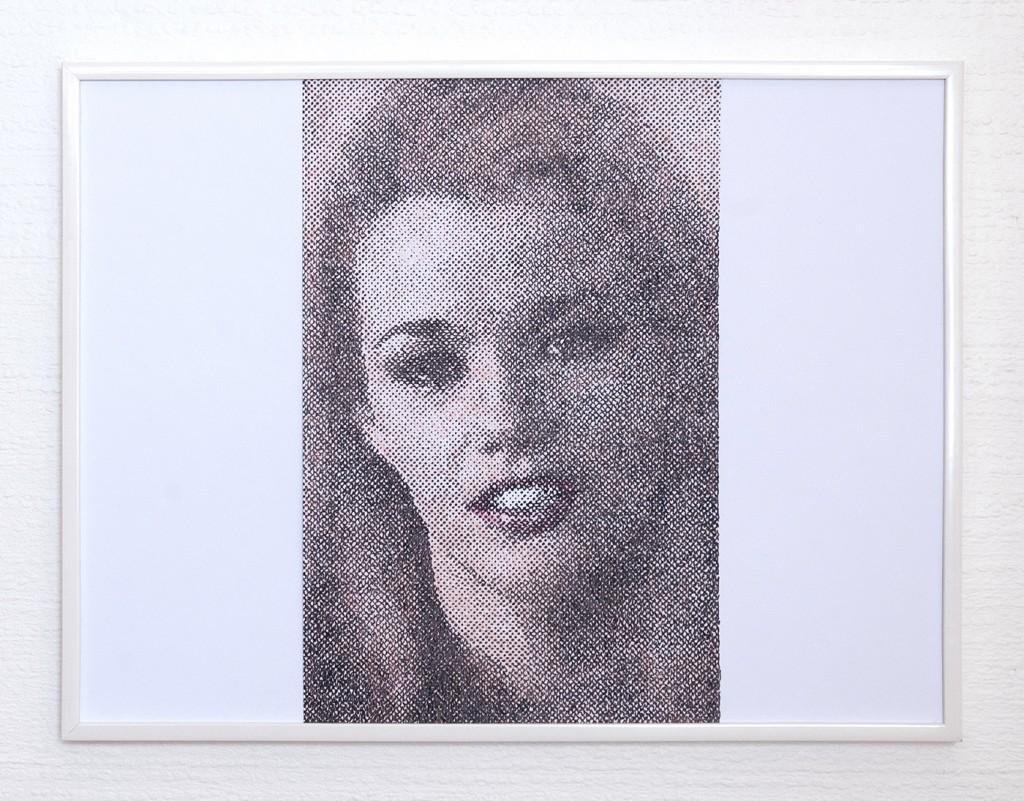 9 frames of Raven (frame 9) 30x40 cm, encre et crayons de couleurs sur papier. 2018